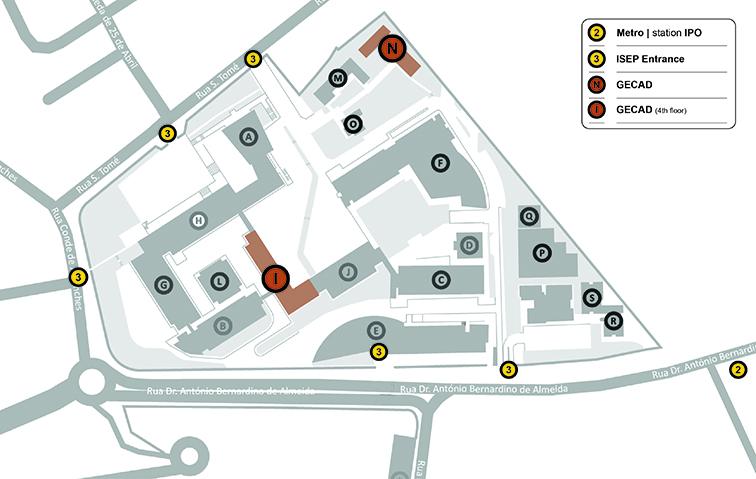 GECAD Map